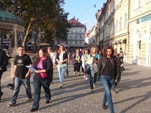 Gledališki sprehod po sledeh Dramatičnega društva, Foto: arhiv SLOGI