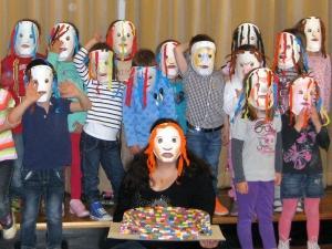 Gledališke maske, Foto: arhiv SLOGI