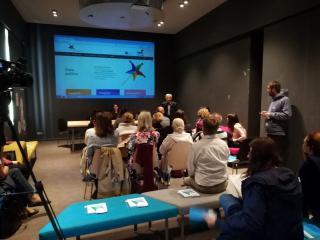 Predstavitev platforme Zlata paličica 2. 10. 2017, Foto: arhiv SLOGI