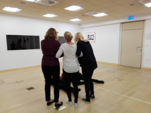 Predstava pod drobnogledom, predstavitvena delavnica, Foto: arhiv SLOGI