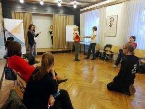 PreDRAMI se!, predstavitvena delavnica, Foto: arhiv SLOGI