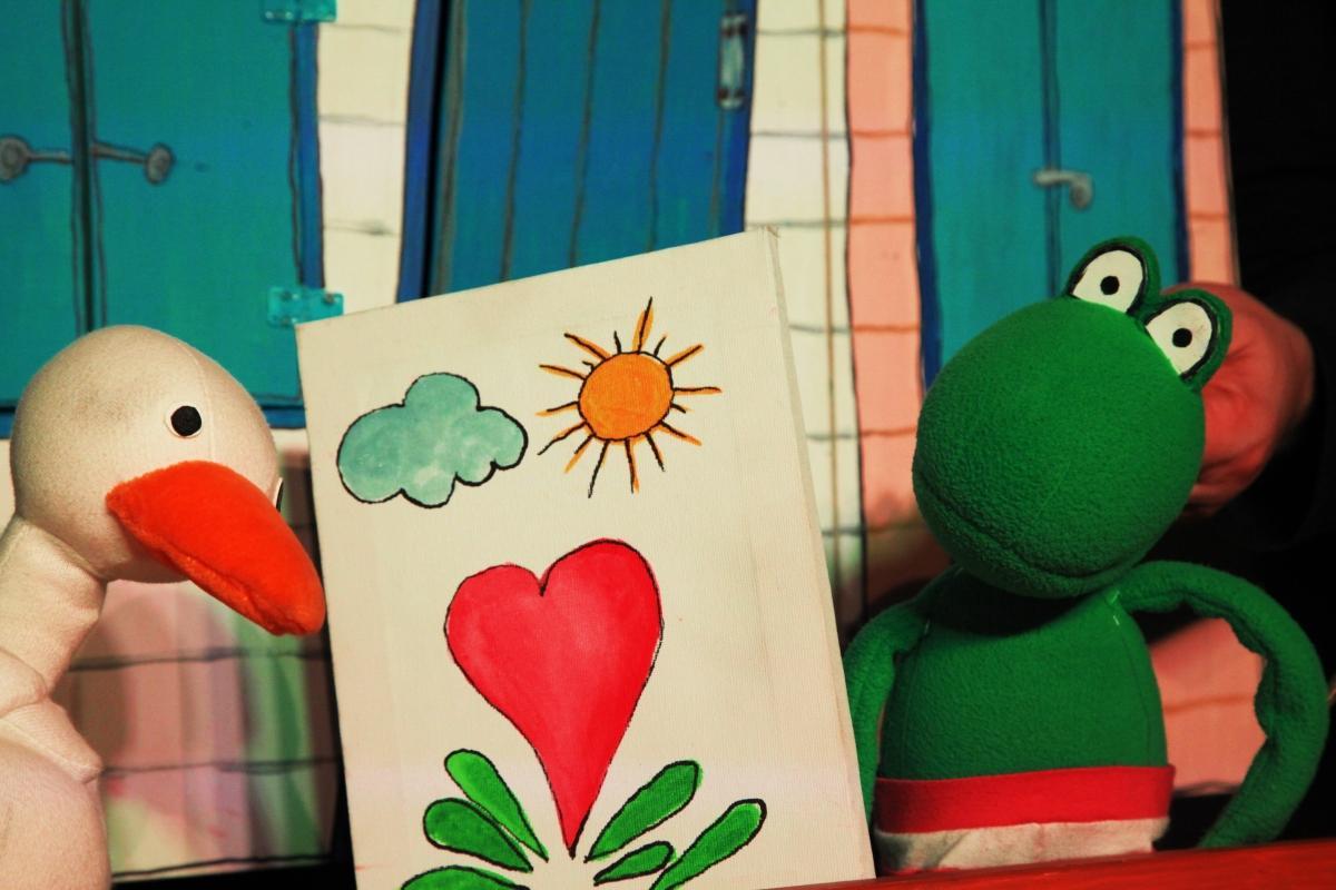 Zaljubljeni žabec, Foto: Urška Boljkovac
