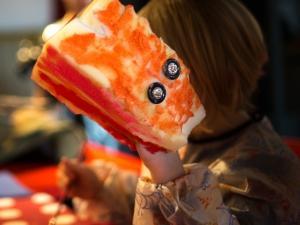 Igrive ročne lutke, Foto: Boštjan Lah