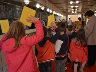 Učna ura gledališkega bontona, Foto: arhiv SNG Maribor