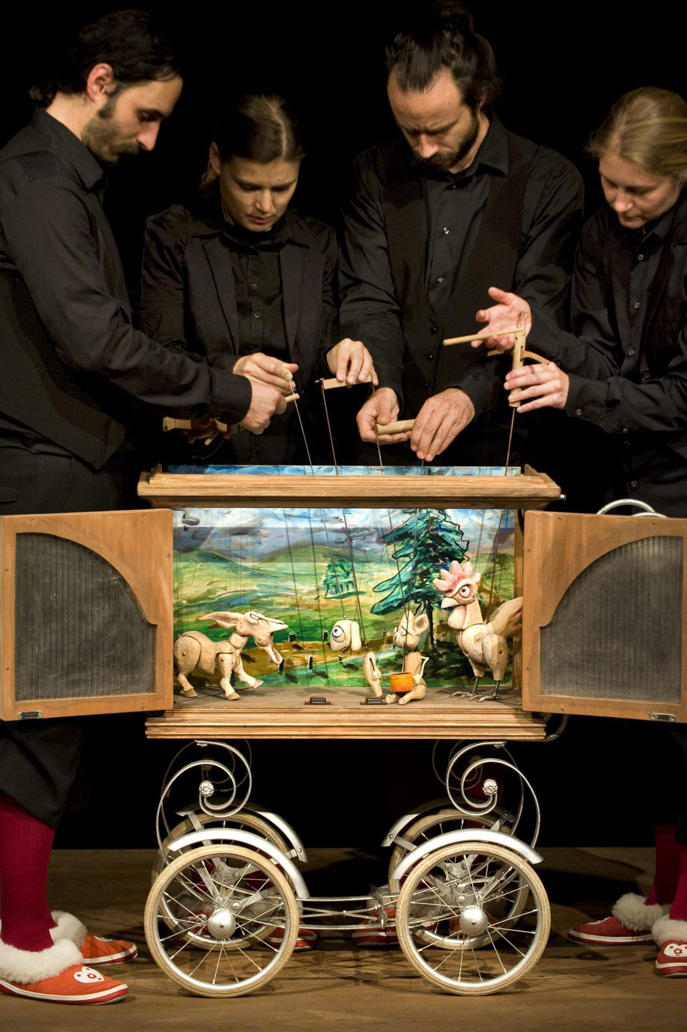Štirje muzikanti, Foto: Žiga Koritnik