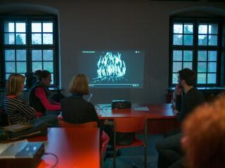 Lutkovna animacija s pomočjo tehnologije, Foto: Boštjan Lah, arhiv LG Maribor