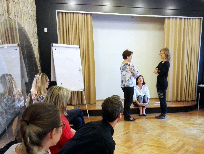 Ustvarjalno poučevanje dramatike, 18. 4. 2018, Foto: arhiv SLOGI