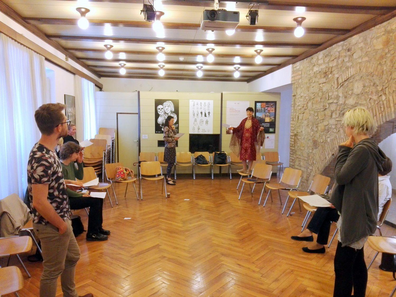 Gledališče v šoli, 21. 5. 2018, Foto: arhiv SLOGI