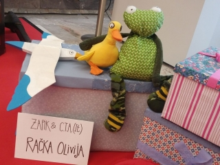 Račka Olivija iz Gledališča Zapik, Kulturni bazar 2019, Foto: arhiv SLOGI