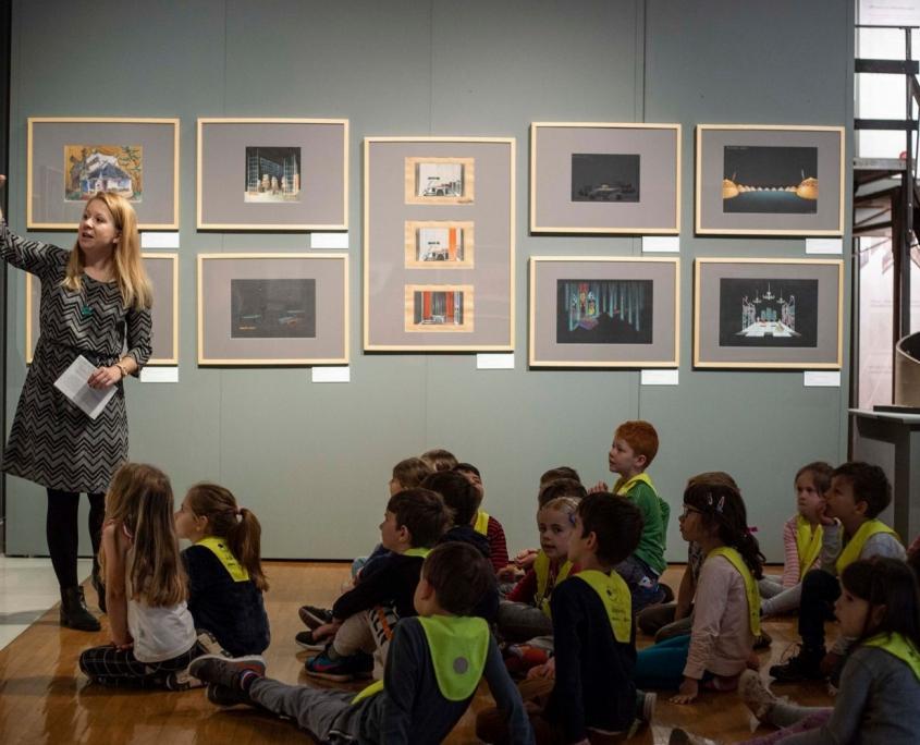Igrivi prostori, Narodna galerija, foto: Asiana Jurca Avci