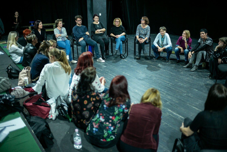 Mlado gledališče 2019, Predstava pod drobnogledom, foto: Boštjan Lah
