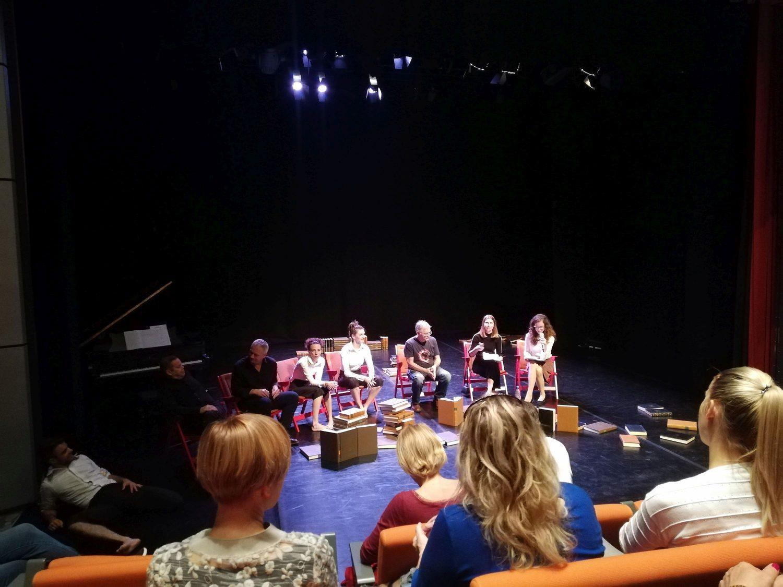 Mlado gledališče 2019, pogovor po predstavi Mankind, foto: arhiv SLOGI
