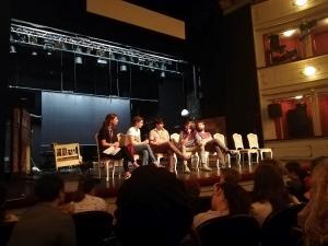 Mlado gledališče 2019, pogovor po predstavi Beli očnjak, foto: arhiv SLOGI