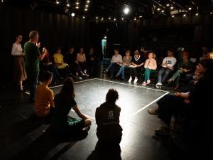 Mlado gledališče 2019, 1-2's, foto: Boštjan Lah