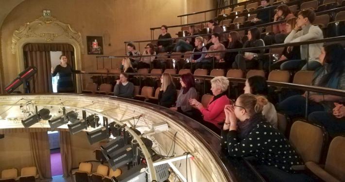 Celovit in kakovosten obisk gledališča, foto: arhiv SLOGI