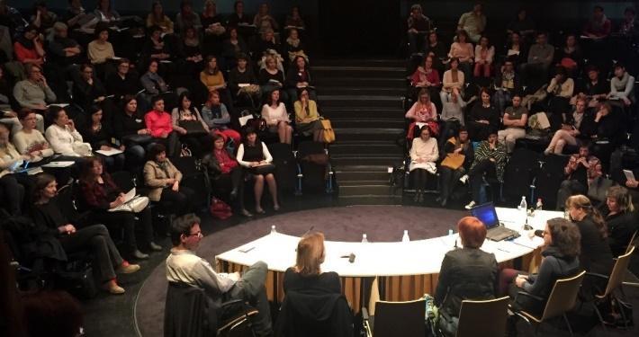 Nacionalni posvet Pismenost za gledališče. Foto: arhiv SLOGI